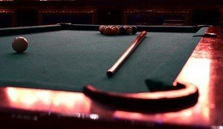 Professional pool table setup in Frederick content img2